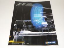 BELGIAN GP F1 2001 race program